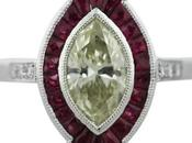Marquise Engagement Ring Candy