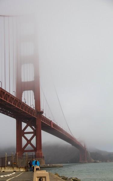 golden gate bridge2 375x600 San Francisco: Golden Gate Bridge and Muir Woods