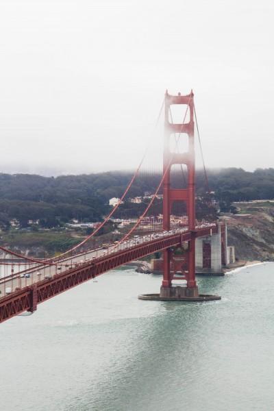 golden gate bridge14 400x600 San Francisco: Golden Gate Bridge and Muir Woods