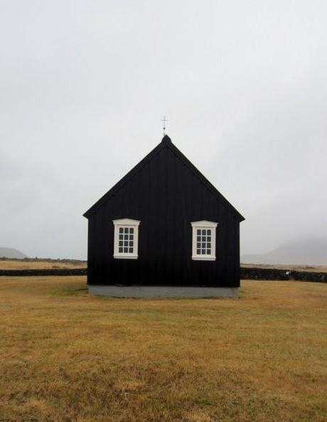 A House Of A Different Color- Black!