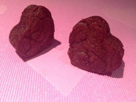 mini heart shaped nutella brownie bites three ingredient recipe