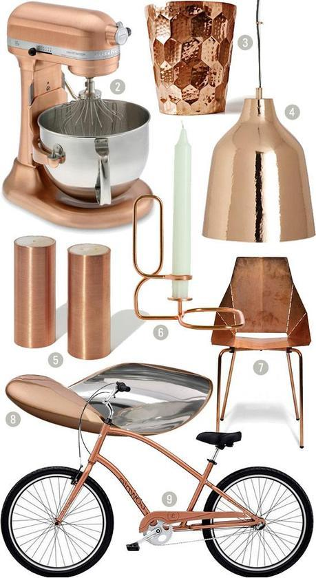 A SPLASH OF COPPER-TONE