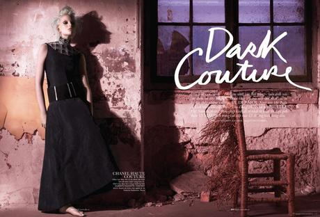 Chrystal Copland in Chanel Haute Couture © Benjamin Kanarek