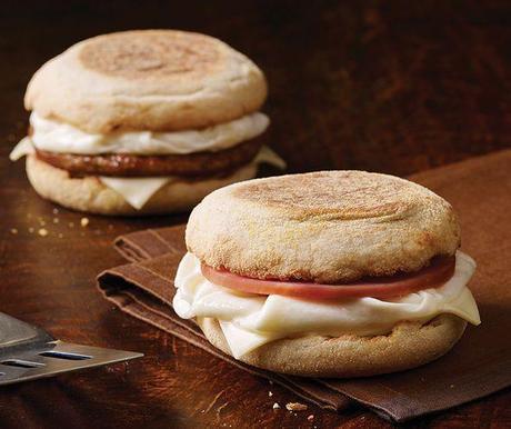 McDonalds Egg White Sandwich