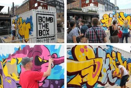 #BOMBTHEBOX at Boxpark - Week 3