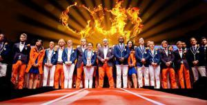 The Dutch Olympic delegation