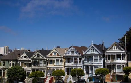 painted ladies 650x411 San Francisco: Alcatraz and Walking Around Downtown