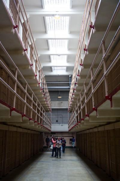 alcatraz 3 400x600 San Francisco: Alcatraz and Walking Around Downtown