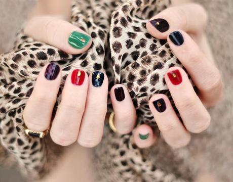2013 nail art trends jewelry for your nails  paperblog