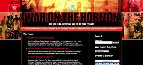 Screenshot: waronthehorizon.com