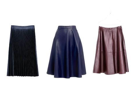 Fall/winter trends - The mid-length skirt