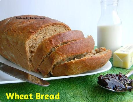 how to make whole grain bread from scratch