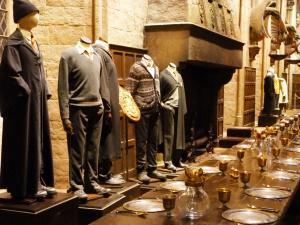 Costumes Griffindor at Hogwarts Main Hall