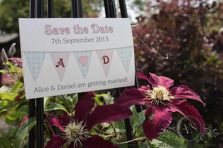 Bunting! Magnet Save the Date