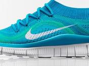 Nike Free Flyknit: 2nd-skin Flexible Sole