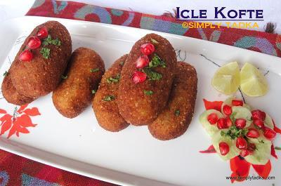 Icle Kofte/ Icle Dumpling (Vegetarian)
