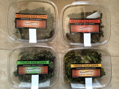 Love Force kale chips