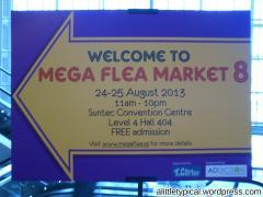 Mega Flea Aug 2013 @ Suntec