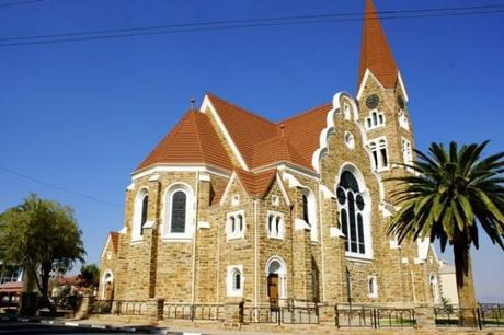 Church in Windhoek, one of the oldest in all of Namibia