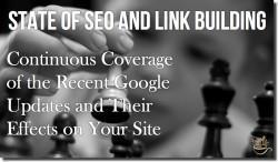 google seo link building state