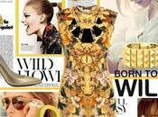 Insect Print Fashion Trends:: Alexander McQueen Dragonfly Dress