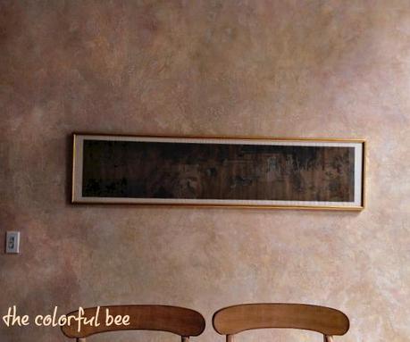 Tuscan wall finish, textured kitchen, Italian plaster