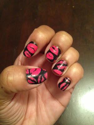 OMG Nail Strips Pink Kisses