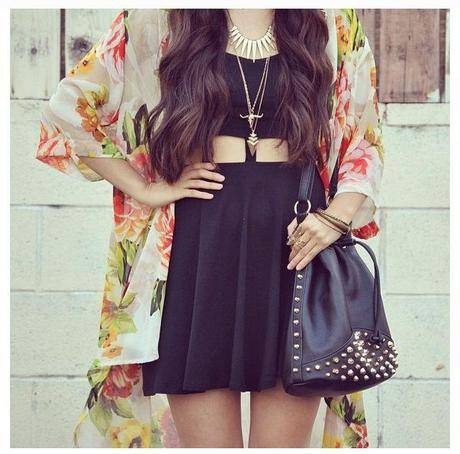 Keeping it Boho in a Kimono