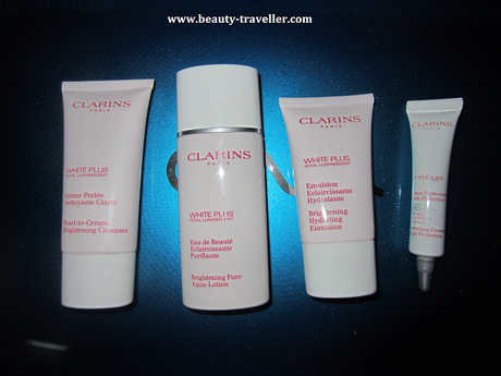Review :  Clarins White Plus Range