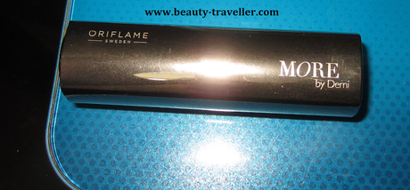 Review : Oriflame MORE by Demi Moore lipstick - Hollywood Red