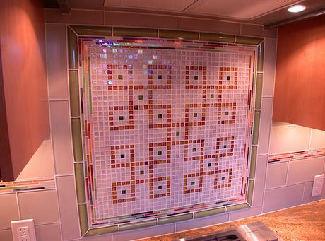 Mosaic Tile Blacksplash