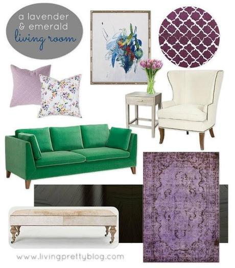Mood Board Monday: August Design Collaboration - Lavender Hues