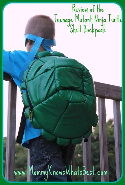 TMNT Teenage Mutant Ninja Turtles Shell Backpack Review