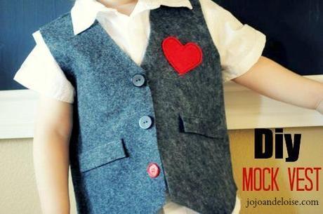 diy mock vest