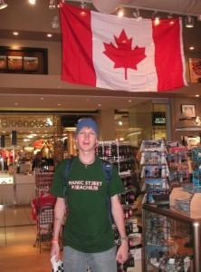 jonny blair backpacking in canada toronto