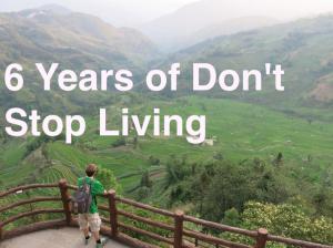 dont stop living travel blog