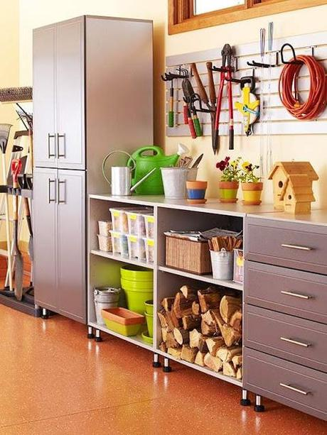 Workbench Design Ideas diy workbench i like the bottom shelf only being half depth so you Via Homeizeacom Garden Area In Garage