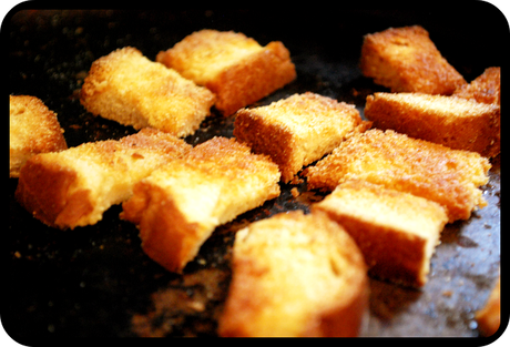 Incredibly Easy Homemade Croutons!