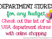 Department Stores Budget: Online Shopping Across