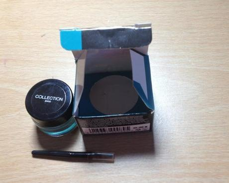 Collection Cosmetics Lasting Color Gel Liner Teal Swatches