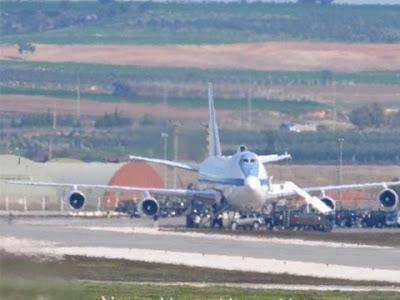 Syria Attack Imminent? Doomsday Plane Spotted In Turkey (Video)
