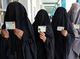 Burqas at the ballot box