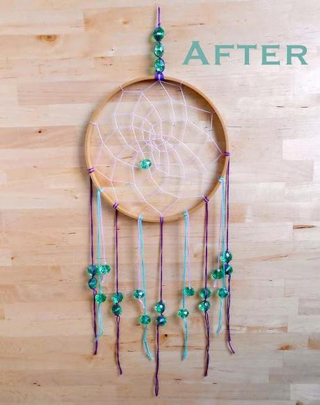 embroidery hoop dream catcher paperblog