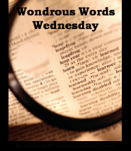 button for Wondrous Words Wednesday meme