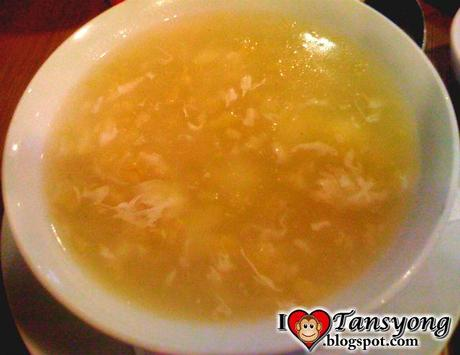 Bird's Nest Soup in Balinsasayaw Chicken Grill and Restaurant Puerto Princesa City.