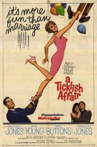 A Ticklish Affair Poster