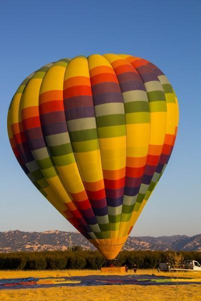 napa valley balloons 400x600 San Francisco: Hot Air Balloons and Napa Valley