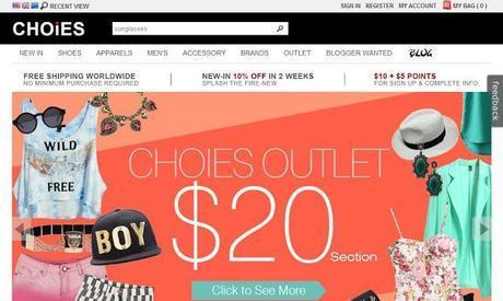 Choies-My New Shopping Destination