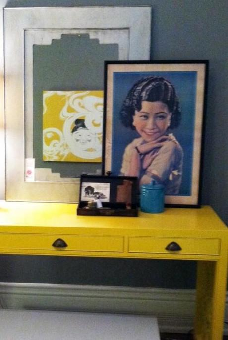 yellow desk cropped 469x700 Extend Summer with Pops of Yellow in Your Decor!