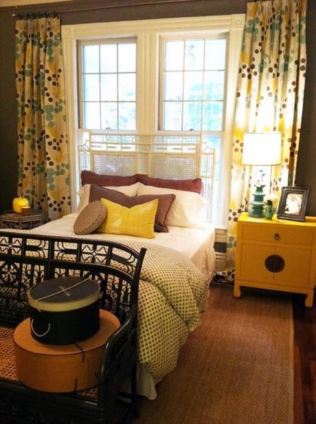 red egg yellow bedroom 2 522x700 Extend Summer with Pops of Yellow in Your Decor!